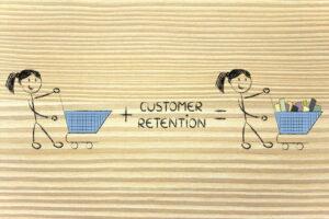 retaining customers