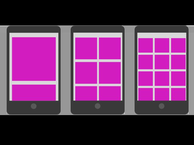 redesign responsive columns mobile
