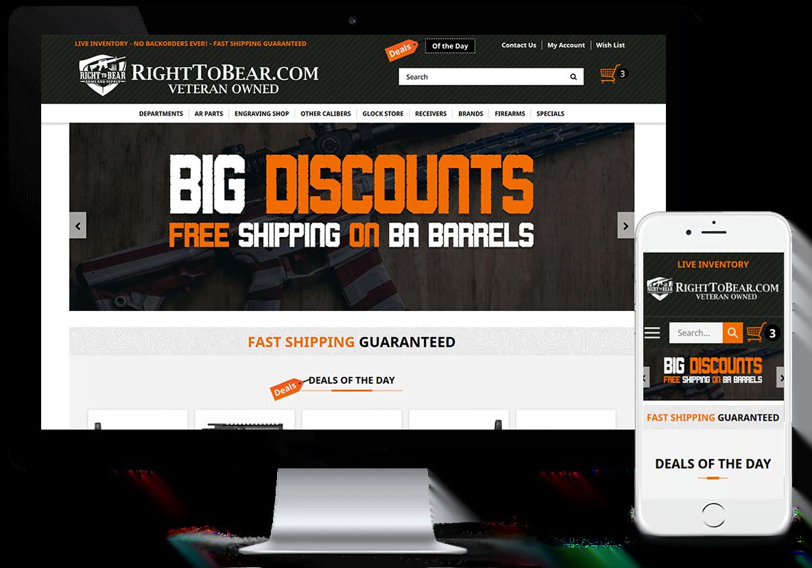 Righttobear firearms store